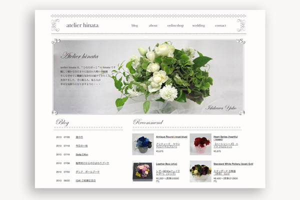 WEB DESIGN sample