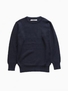 Honor gathering Cotton Linen Knit (marine navy)