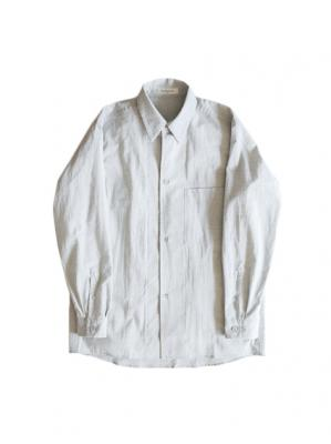 THE HINOKI Cotton Poplin Loose Fit Shirt