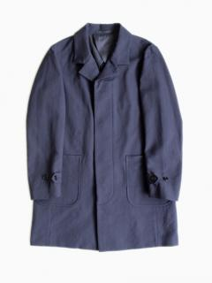 niuhans Double Cloth Cotton Coat(NAVY)