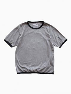THE HINOKI Organic Ringer T-Shirt (Gray)
