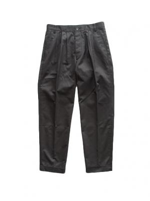 3Tuck WP Trousers (Charcoal Black)