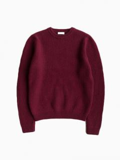 niuhans Low Gauge Sweater (Wine)