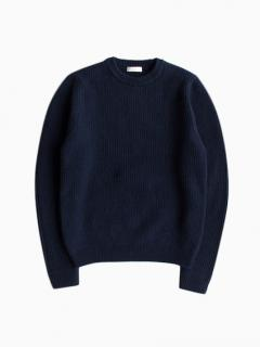 niuhans Low Gauge Sweater (Navy)