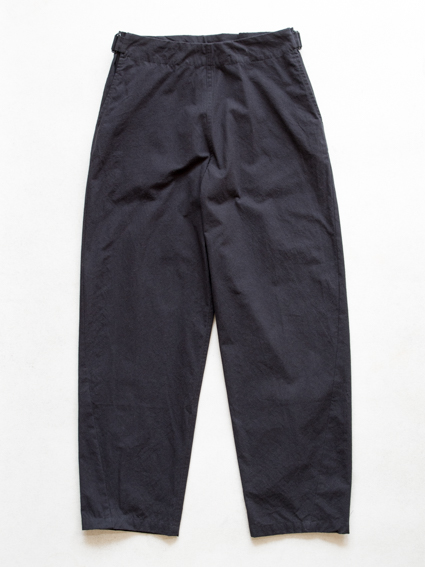 Horse Cloth Cotton Easy Pants (Black)