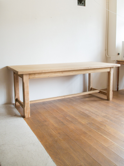 Oak Dining Table  (France)  ※HOLD
