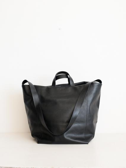 Aeta Leather Shoulder Tote M