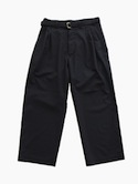 Honor gathering Summer Wool Washable Pants (Ink)
