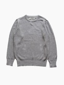 Honor gathering Cotton Linen Knit (mix gray)