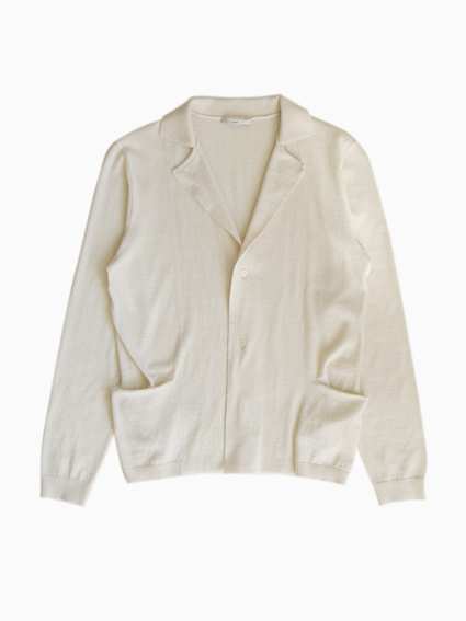 TARV Cotton Cashmere Jacket (Ivory)