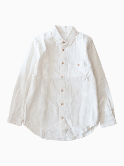 THE HINOKI 16AW Cotton Linen Work Shirt