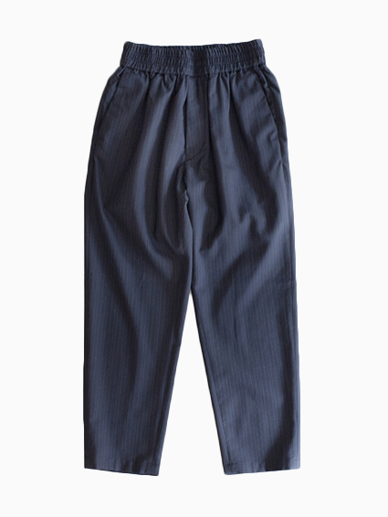 Honor gathering Stripe Washer Pants (navy)