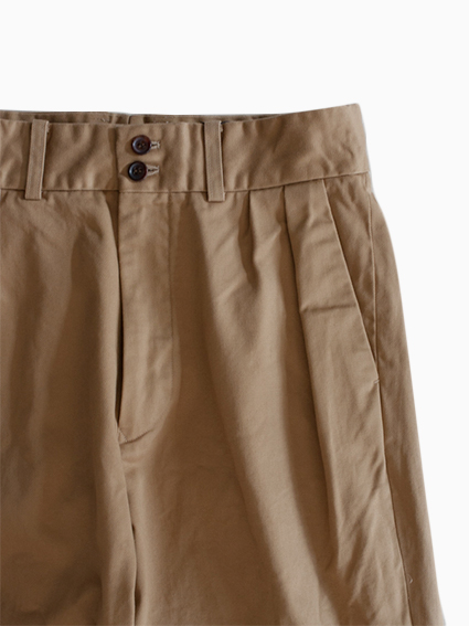 Honor gathering Vintage Chino Cloth Pants (beige)