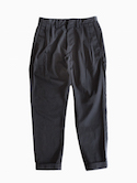 Honor gathering Nylon Heavy Twill Pants (black)