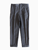 Honor gathering Slim Fit 1tuck Pants (black)
