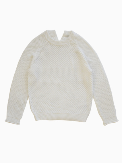 TARV Back Slit Pullover (WHITE)