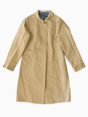 semoh Ladies Stain Collar Coat(Beige)