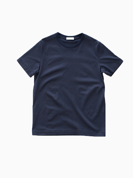 niuhans Suvin Cotton S/S Tee(Navy)