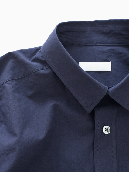 niuhans Sound Cloth Cotton Shirts (Navy)