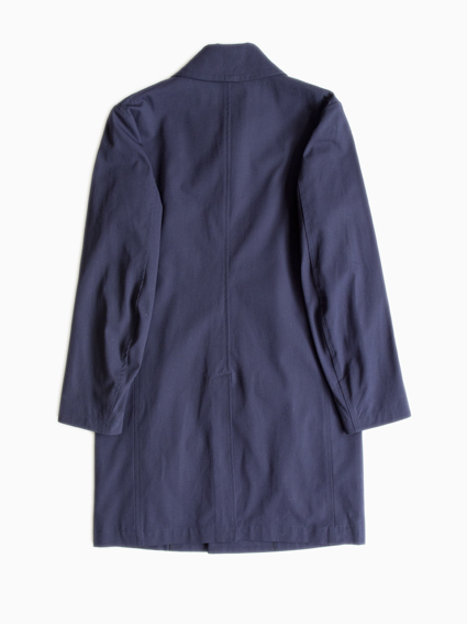Honor gathering Stain Collar Coat(Navy)