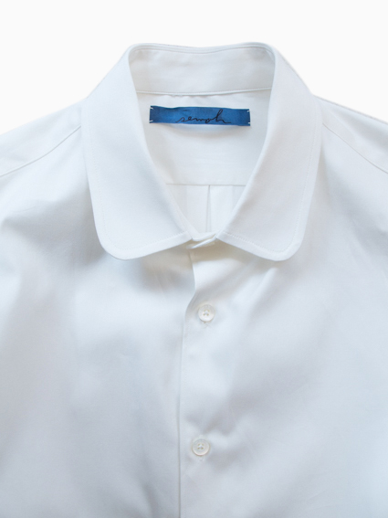 semoh Round Collar type 02 (White)