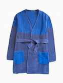 semoh Gown Coat (Blue)