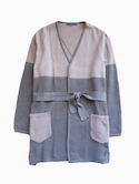 semoh Gown Coat (Grey)