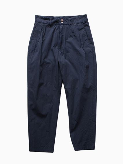 Honor gathering Supima Cotton Pants(Ink)