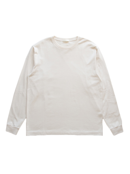 Suvin Cotton L/S Tee (Off White)