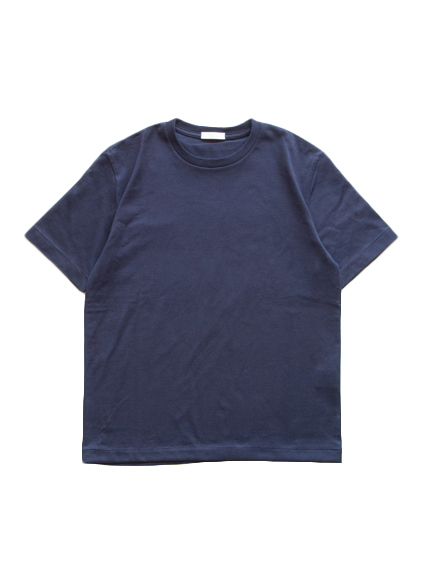 Suvin Cotton S/S Tee (Dark Navy)
