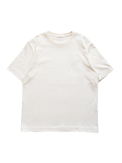 Suvin Cotton S/S Tee (Off White)