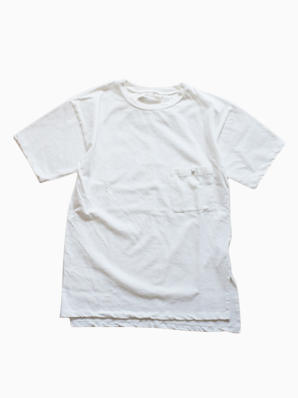 Honor gathering Cotton Twill T-Shirts (white)