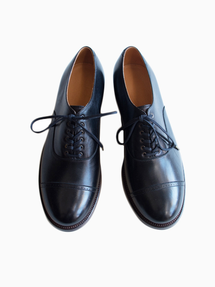 forme Lady's Straight Tip Shoes - Spain Rum (内羽根)