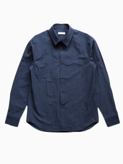 Sound Cloth Cotton L/S Shirts (D.Navy)