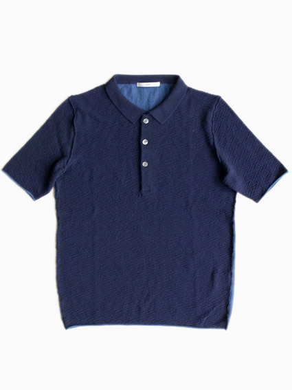TARV Cotton Polo Shirts(NAVY)