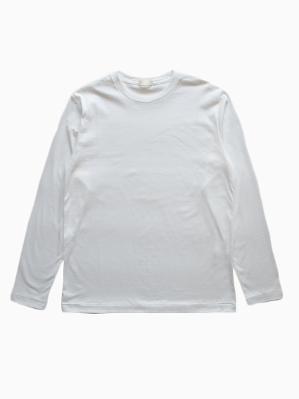 niuhans Suvin Cotton L/S Tee (White)