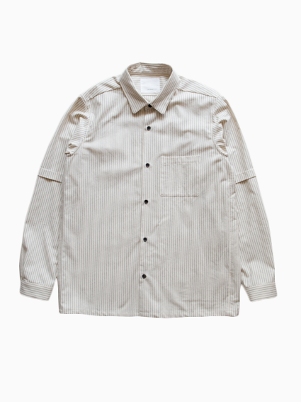 Organic Cotton Stripe Shirt