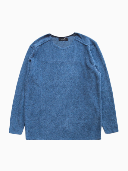 semoh Pile Basque Shirts (Blue)