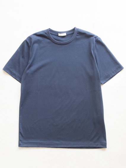 Suvin Cotton S/S Tee (Navy)