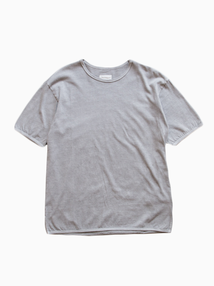 Organic Cotton Ringer T-Shirt (Gray)