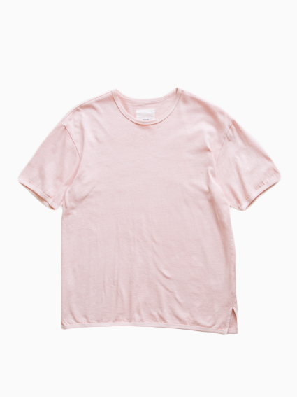 Organic Cotton Ringer T-Shirt (Pink)