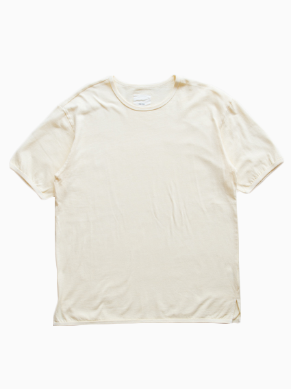 Organic Cotton Ringer T-Shirt (Yellow)