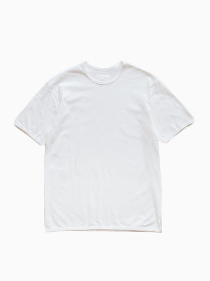 Organic Cotton Ringer T-Shirt (White)