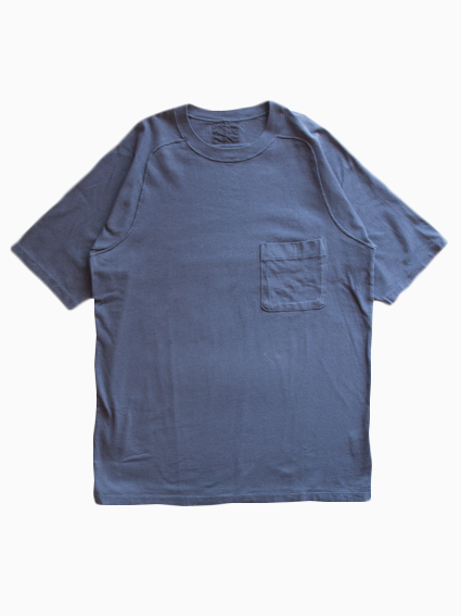 Organic Cotton Pocket T-Shirt (Midnight)