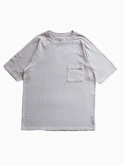 Organic Cotton Pocket T-Shirt (Gray)