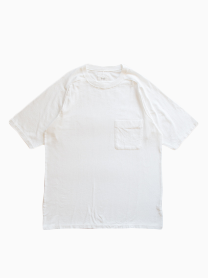Organic Cotton Pocket T-Shirt (White)