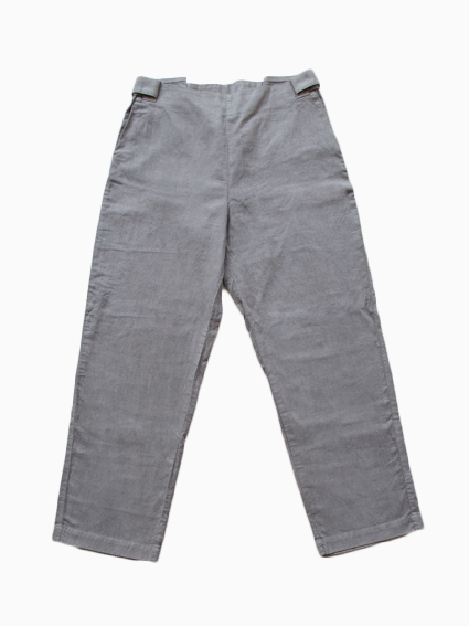 THE HINOKI Oxford Tapered Pants (Gray)
