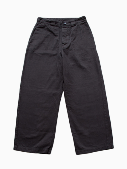 THE HINOKI Organic Cotton Wide Pants (D.Gray)