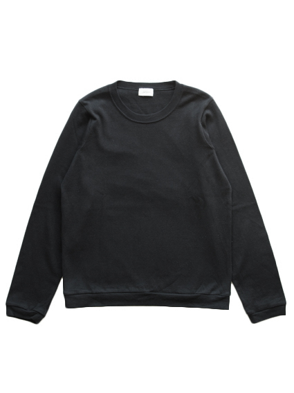 Organic Cotton L/S T-Shirt (Black)