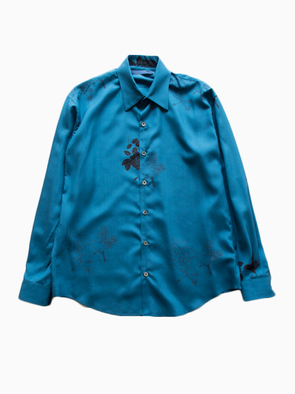 semoh Regular Collor Shirts  type 10 (Flower&Bird)